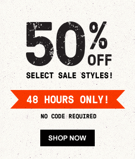 50% OFF Select Sale Styles! 48 Hours Only! No Code Required | Shop now.