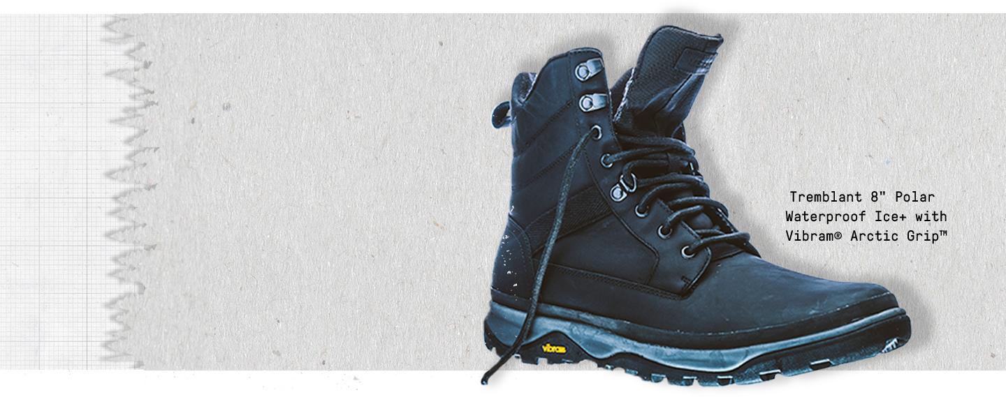 Tremblant 8 inch Polar Waterproof Ice+ with Vibram® Arctic Grip™️