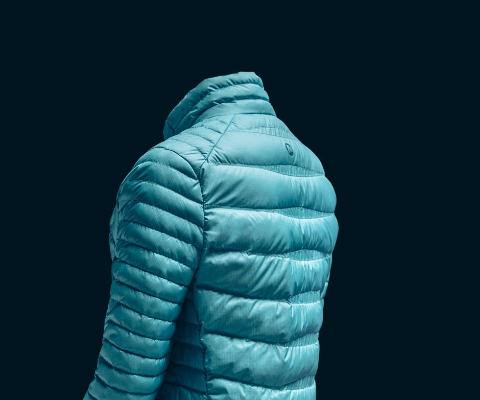 Merrell Ridgevent teal jacket.