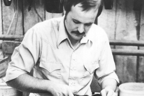 Old photo of Randy Merrell