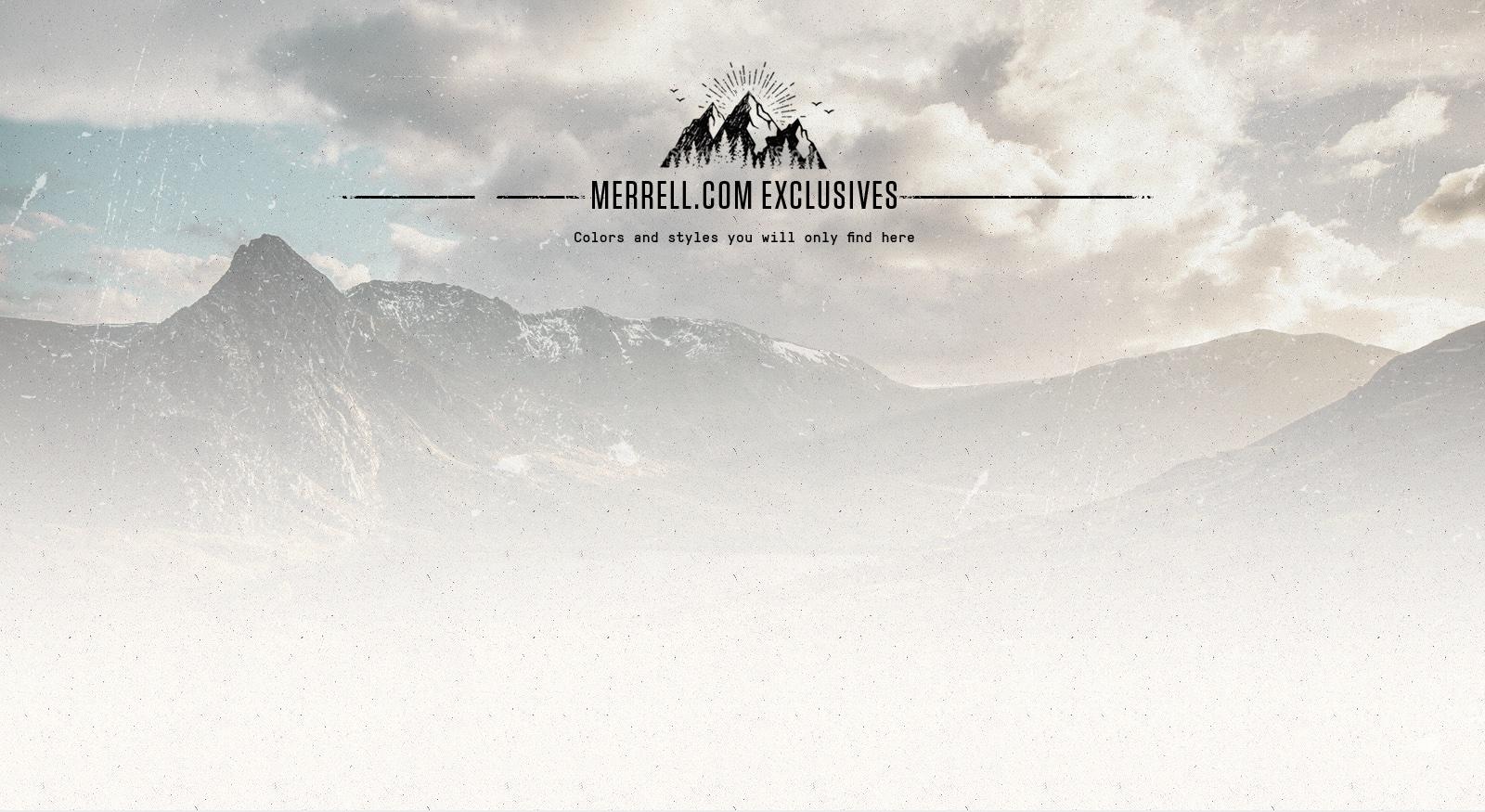 Merrell.com Exclusives
