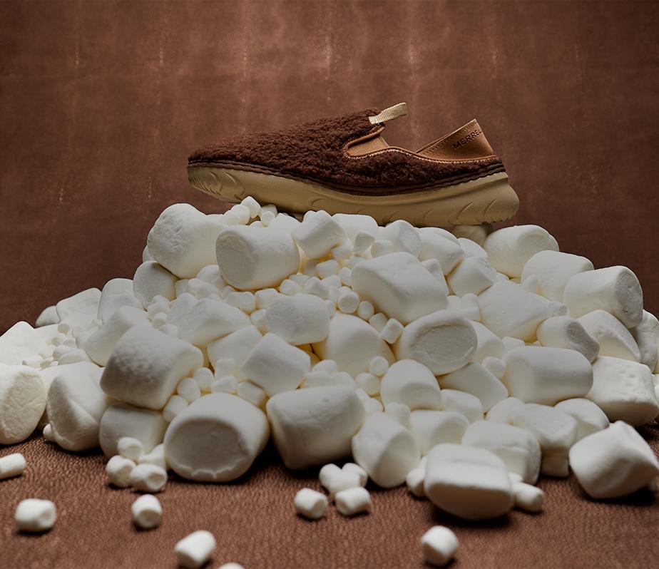 Hut Cocoa Moccasins.
