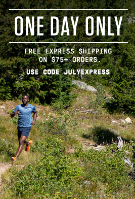One day only - free express shipping on $75+ orders. Use code: JULYEXPRESS.