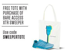 Free Tote with purchase of Bare Access XTR Sweeper. Use code SWEEPERTOTE