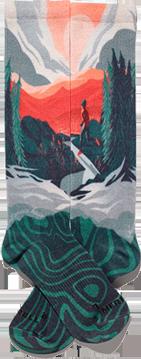 White Mountain Sock