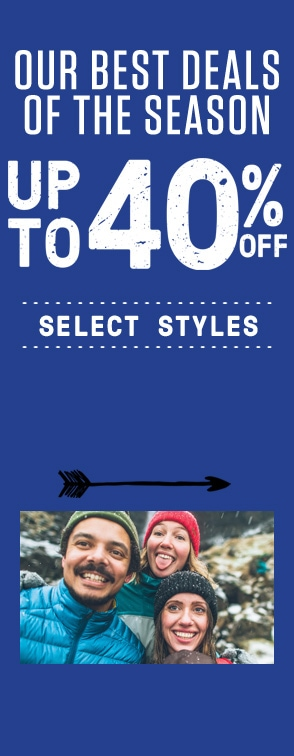 Our best deals of the season. Up to 40% off select items.