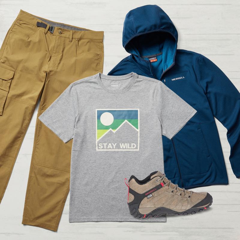 Men's Hiking Kit