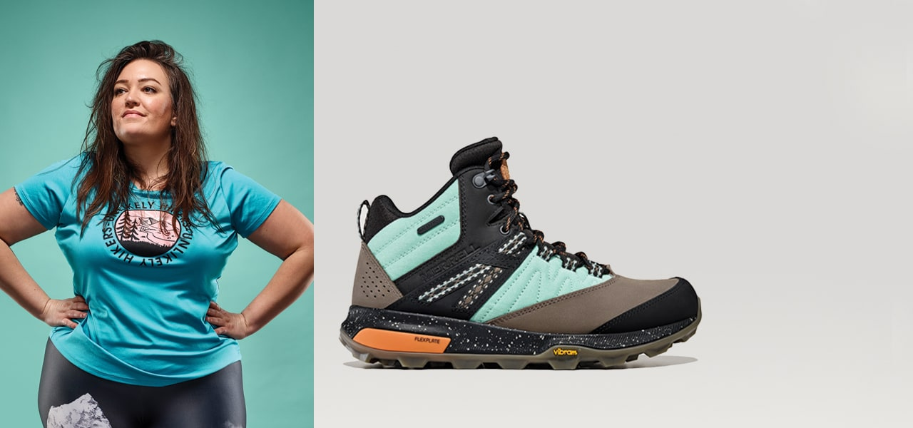 Merrell X Unlikely Hiker Boot and Jenny Russo