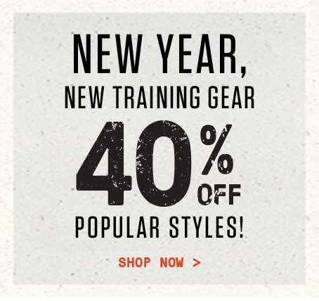 New Year, New Training Gear - 40% off popular styles | Shop Now