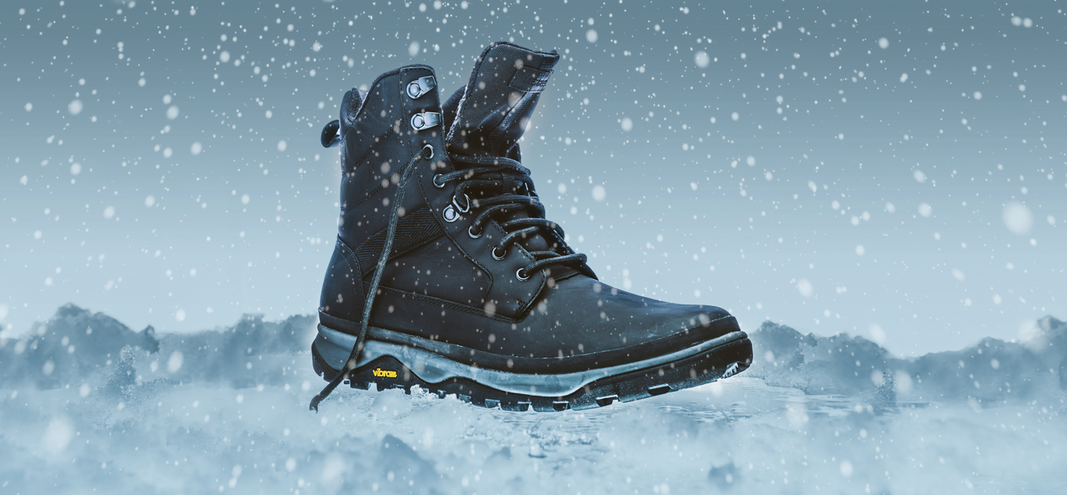 Tremblant Boot in Winter.