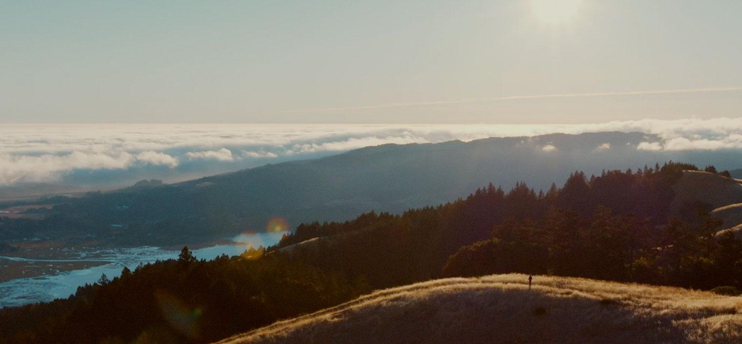 Mountainous wilderness landscape in daylight.