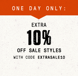 Limited Time: Extra 10% Off Sale Styles with Code EXTRASALE10 | Shop Now