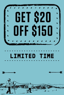 Get $20 off $150. Limited time.