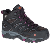 Women's Moab 2 Vent Mid Waterproof Comp Toe Work Boot